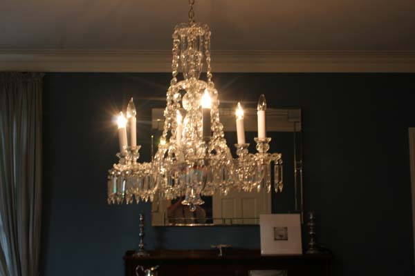 Antique glass repair crystal chandelier repair