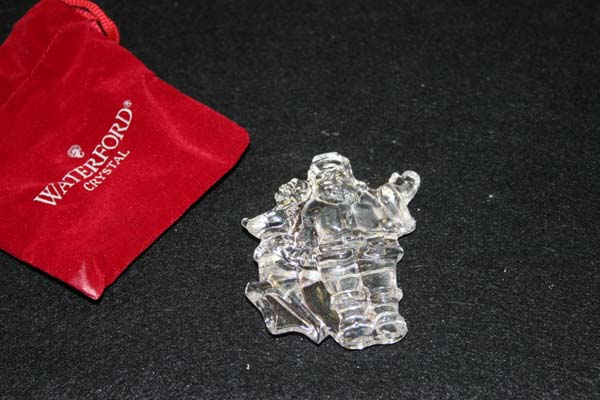 Crystal Repair  Broken Waterford Santa