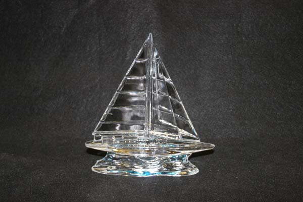 Waterford Crystal Sail Boat