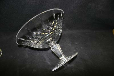 Crystal Compote Repaired