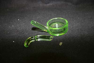 Press Glass Spoon