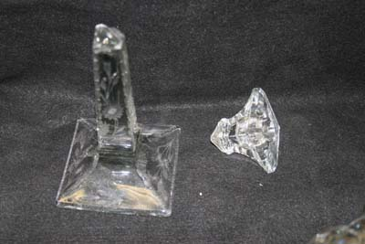 Antique Heisey Crystal Candlestick