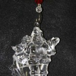 Repaired Waterford Crystal Christmas Ornament