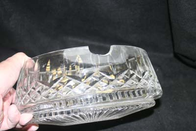 Waterford Crystal Bowl Large Chip