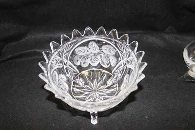 Repaired Glass Bowl