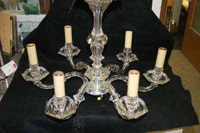 Antique Crysal Chandelier