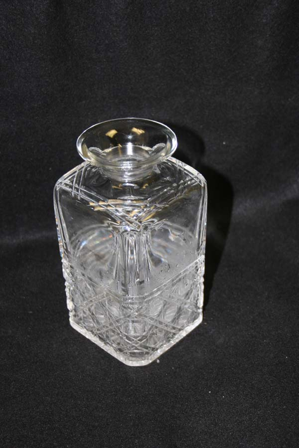 Cut Crystal Decanter with new neck
