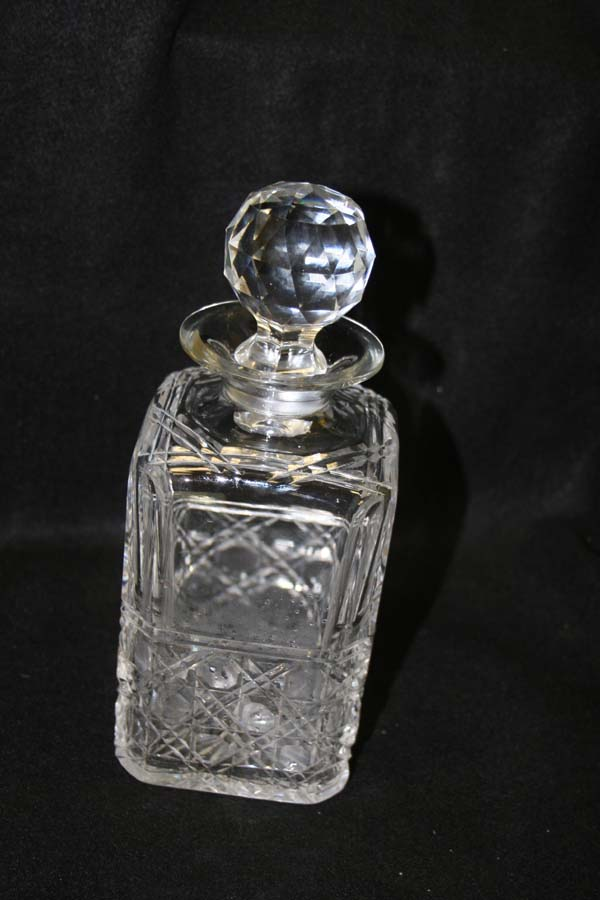 crystal decanter repaired