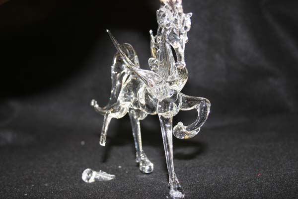 crystal horse repair