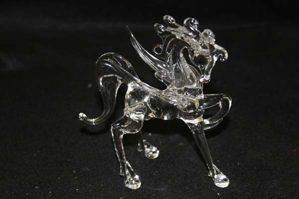 crystal horse repaired