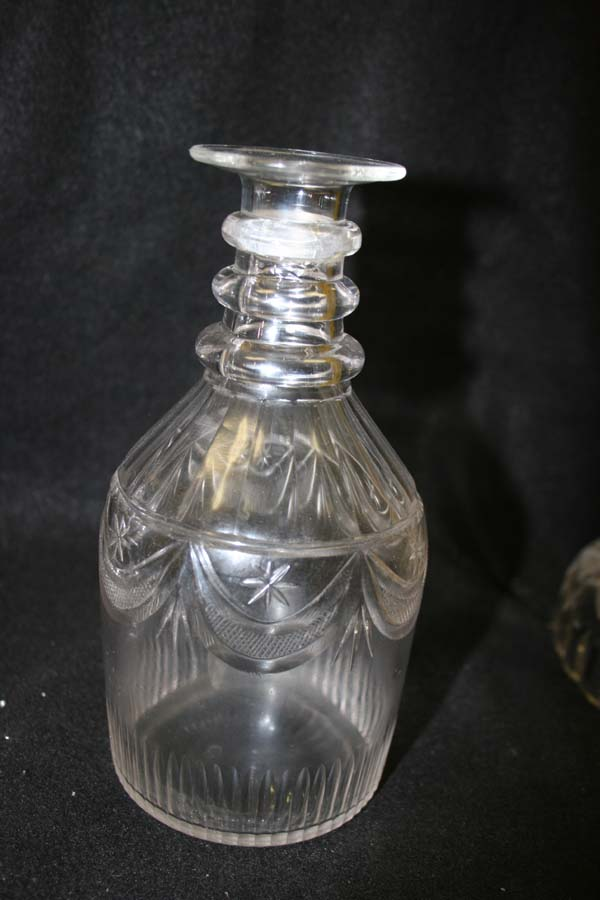 crystal decanter after repair