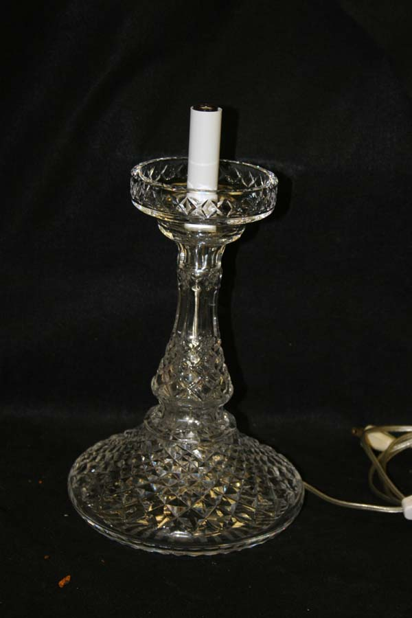 Repaired Waterford Crystal  Lamp
