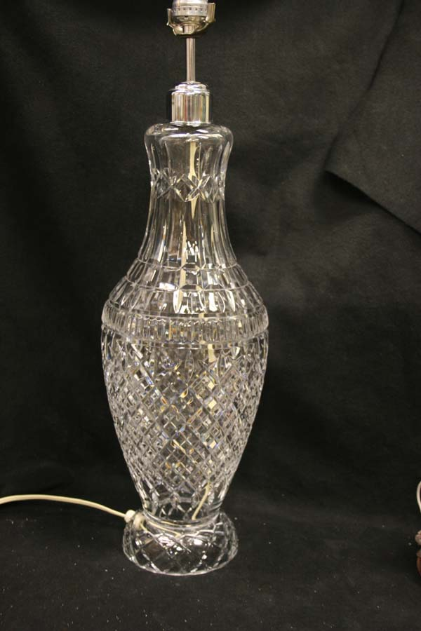 Crystal Repair  Waterford Lamp
