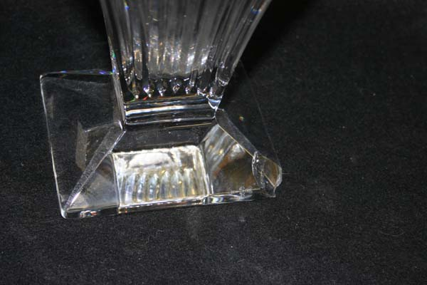 Chipped Waterford Crystal Vase Repair