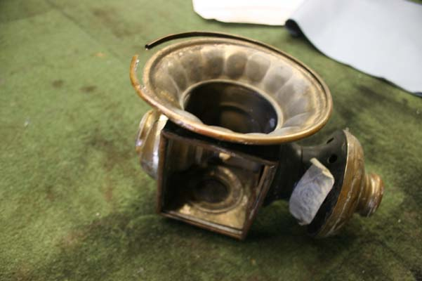 oil lamp repair
