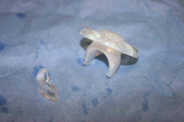 LaLique crystal  ring cut and fit replacement piece