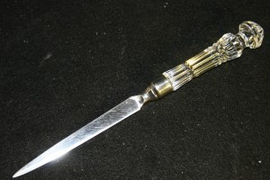 Crystal Restoration Waterford Letter Opener