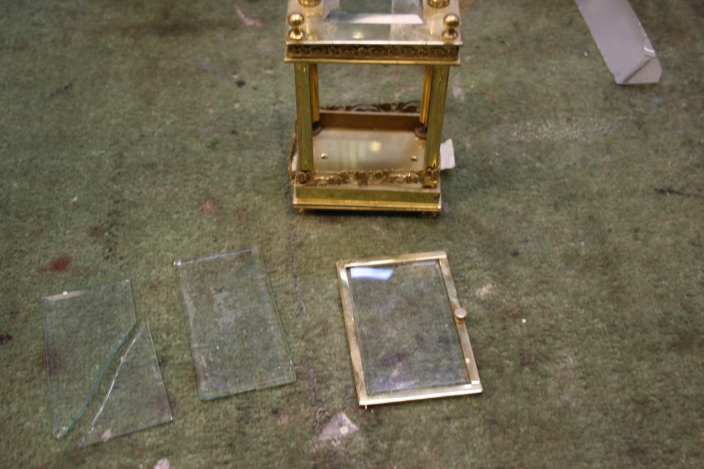 Antique Clock Glass | Bruening Glass Works
