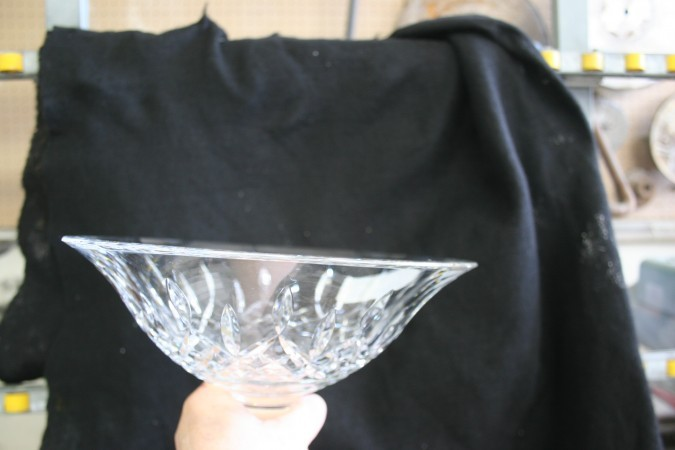 Waterford Crystal compote sửa chữa
