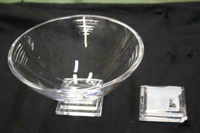 Repaired Crystal Bowl
