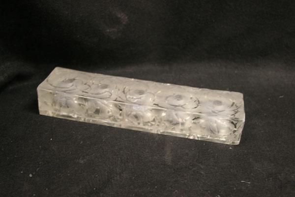 Lalique Crystal perfume bottle repair