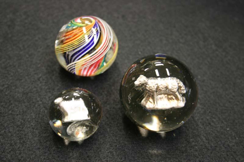 Antique Glass Marble Restoration Bruening Glass Works
